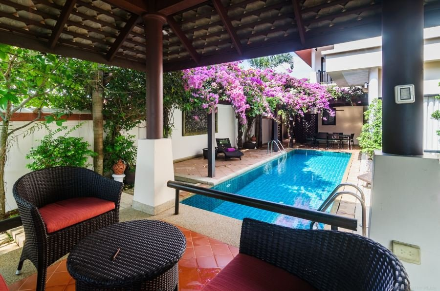 4 bed villa in Angsana Villas Resort