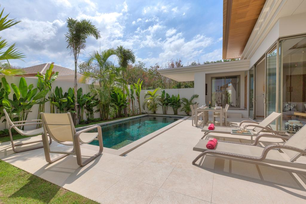 Tropical 3 Bed Pool Villa in Cherngtalay