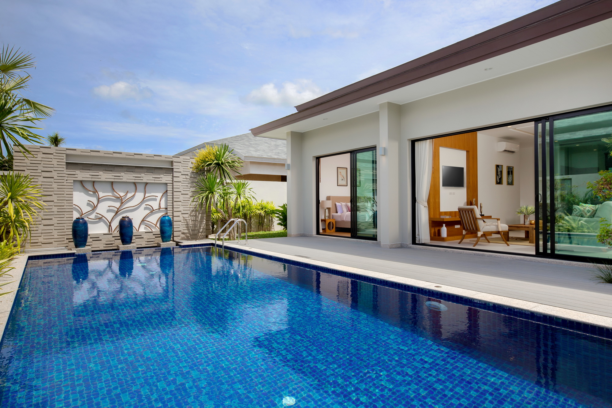 Perfectly 3 Bed pool villa in Layan Beach