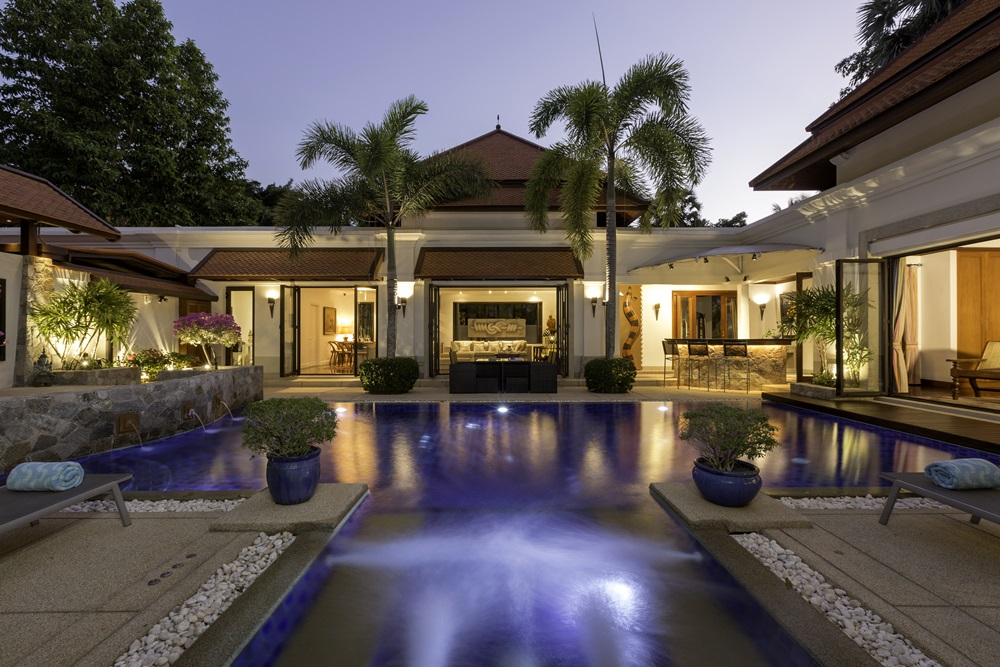 Bali Style 3  bed pool villa in Bangtao Beach