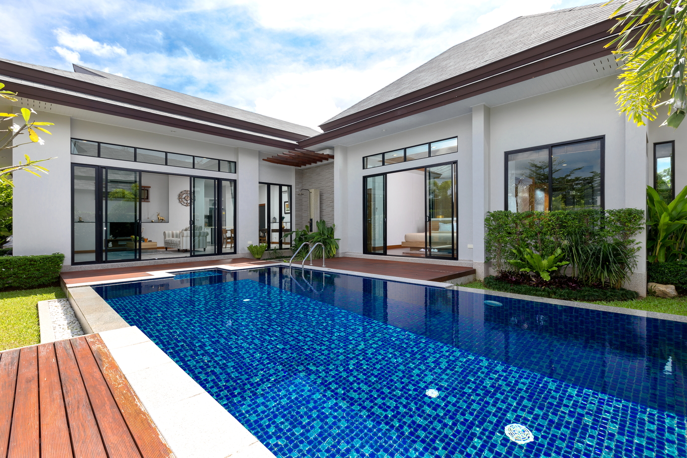 Charming 3 bed pool villa in Layan Beach
