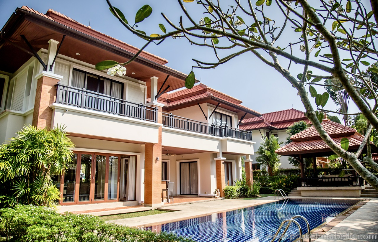 superb 4 bed pool villa in laguna Phuket
