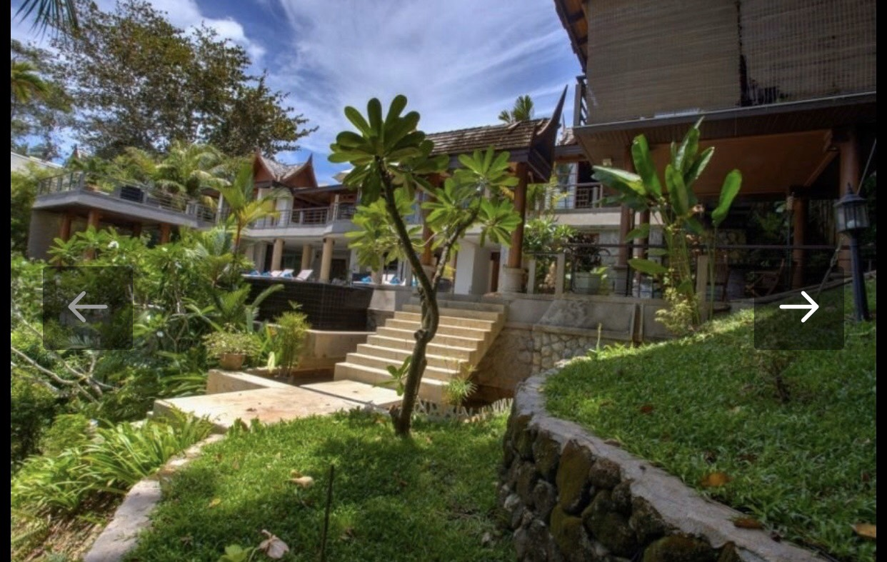 Sea view 5 bed pool villa in Surin beach