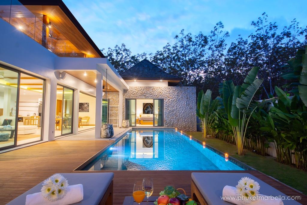 4 Bed pool villa with nature surrounded