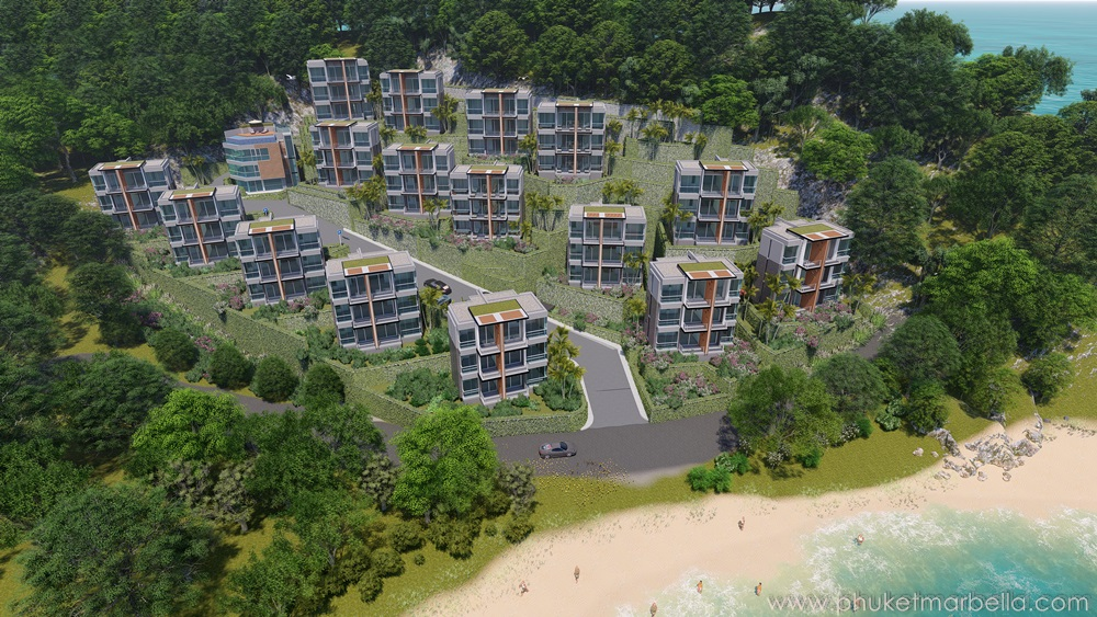 beach front condominium in Nai yang Beach