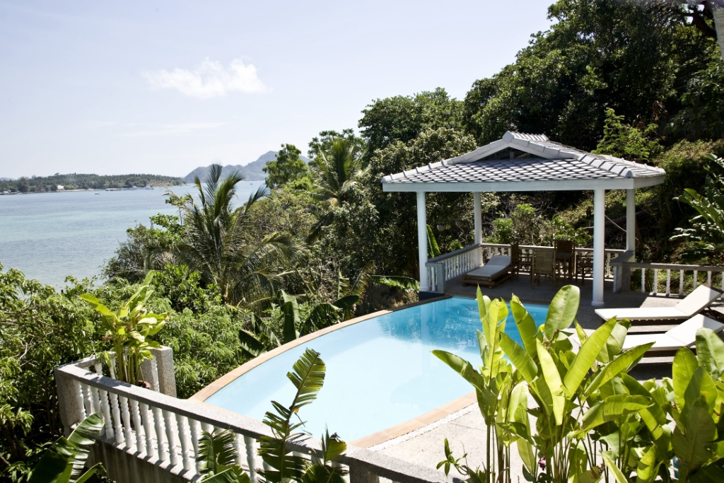 Beach front 3 bed pool villa in Rawai
